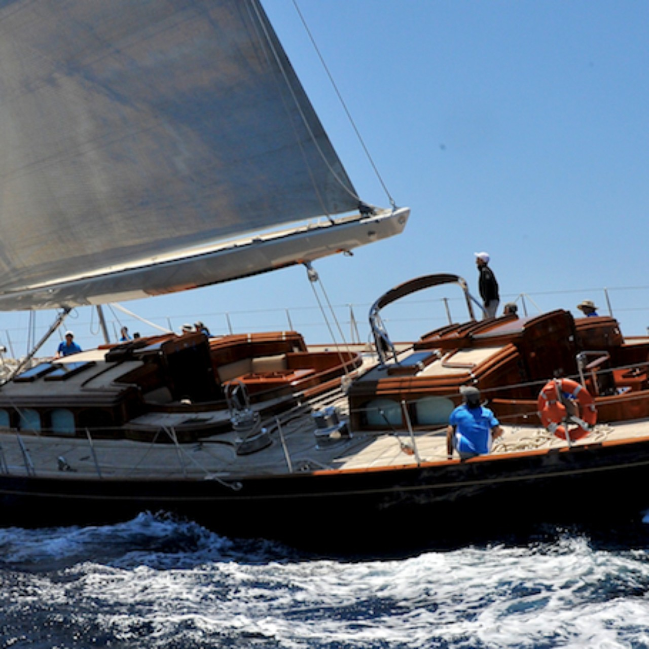 The Sail Yacht Maria Cativa At The Superyacht Cup Palma